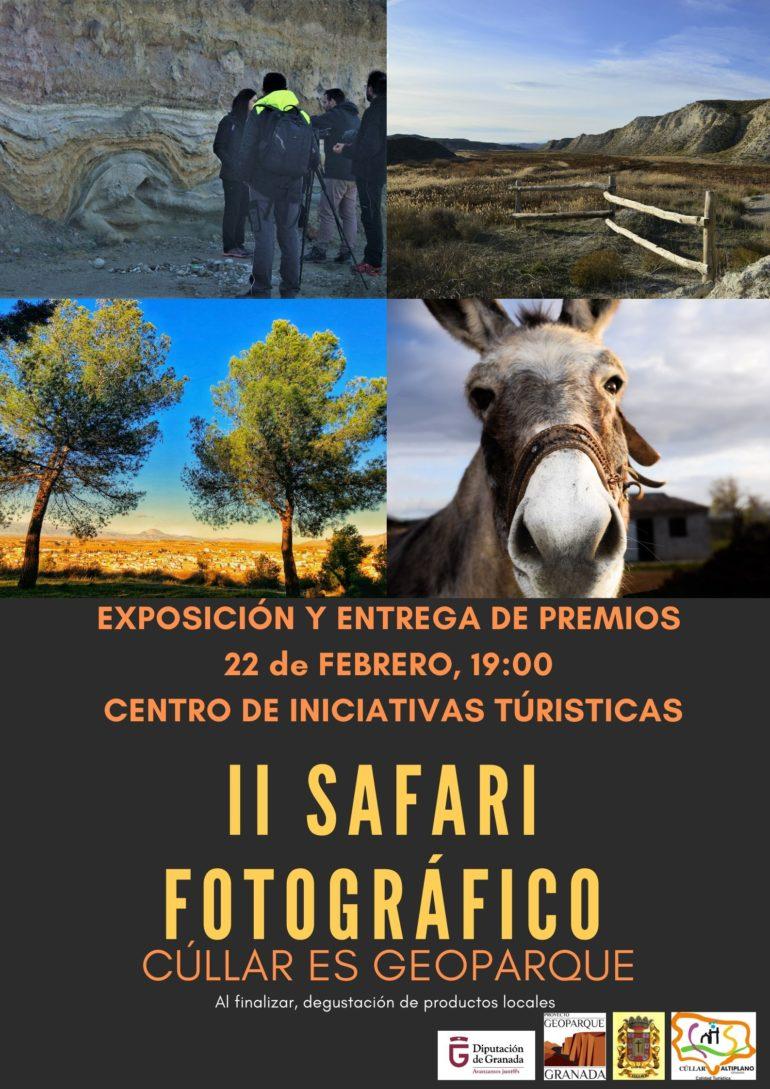 Exposición y entrega de premios II Safari fotográfico de Cúllar y sus Anejos.