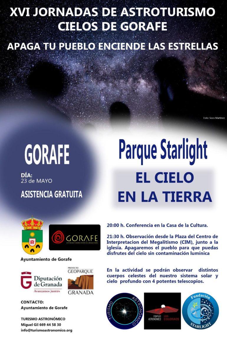 XVI Jornadas de Astroturismo Cielos de Gorafe