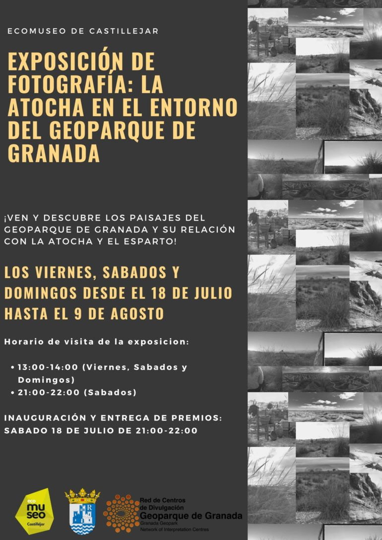 """Exposición de fotografía: """"La Atocha en el entorno del Geoparque de Granada"""""""
