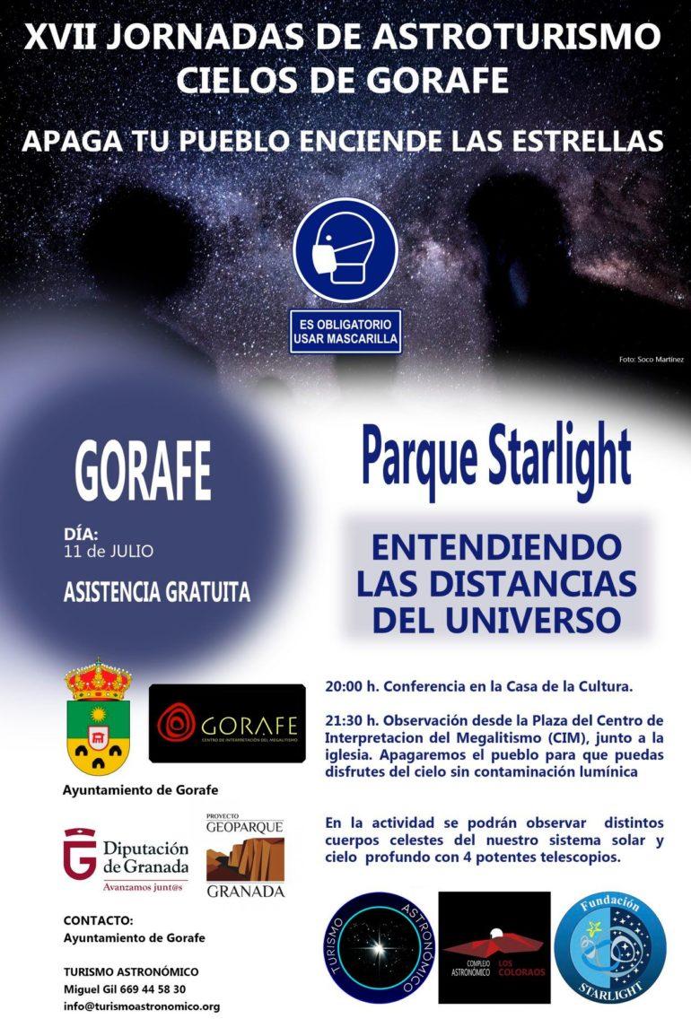 XVII Jornadas de Astroturismo Cielos de Gorafe