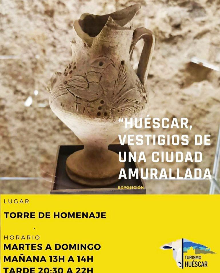 EXPOSICIÓN : HUÉSCAR, VESTIGIOS DE UNA CIUDAD AMURALLADA