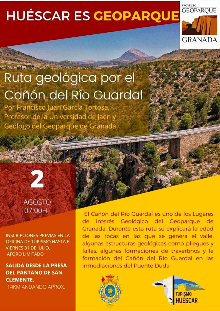 ¡¡ RUTA GEOLÓGICA POR EL CAÑÓN DEL RÍO GUARDAL !!