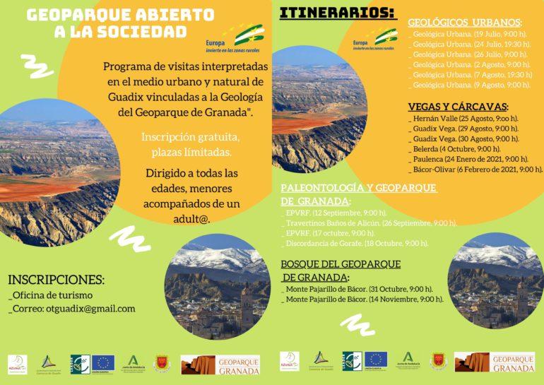 GEOPARQUE ABIERTO A LA SOCIEDAD: Geológica Urbana. 7 Agosto, 19:30 h