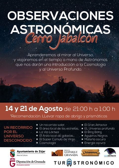 Cita con la #Astronomía en la cima del #Jabalcón. (II)