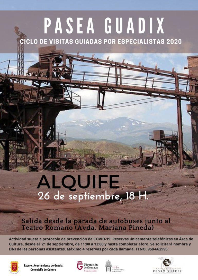 El programa Pasea Guadix vuelve a salir de Guadix con una ruta dedicada al poblado minero de Alquife .
