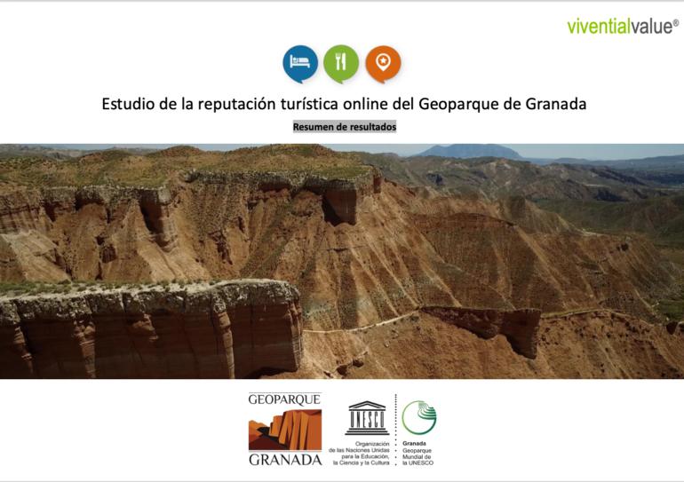 El Geoparque de Granada goza de una excelente reputación turística online.