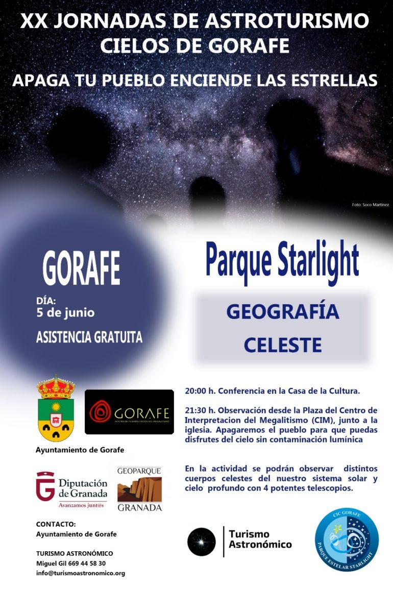 XX Jornada de astroturismo Cielos de Gorafe