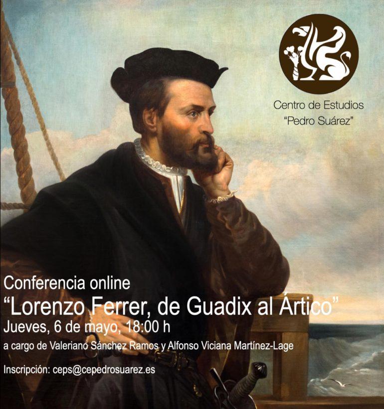 """Conferencia """"Lorenzo Ferrer, de Guadix al Ártico"""""""