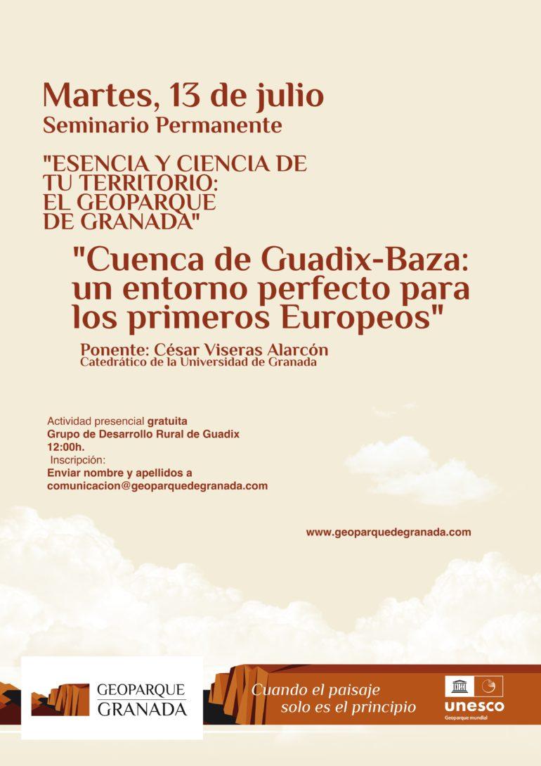 """""""Cuenca de Guadix-Baza: un entorno perfecto para los primeros Europeos"""""""