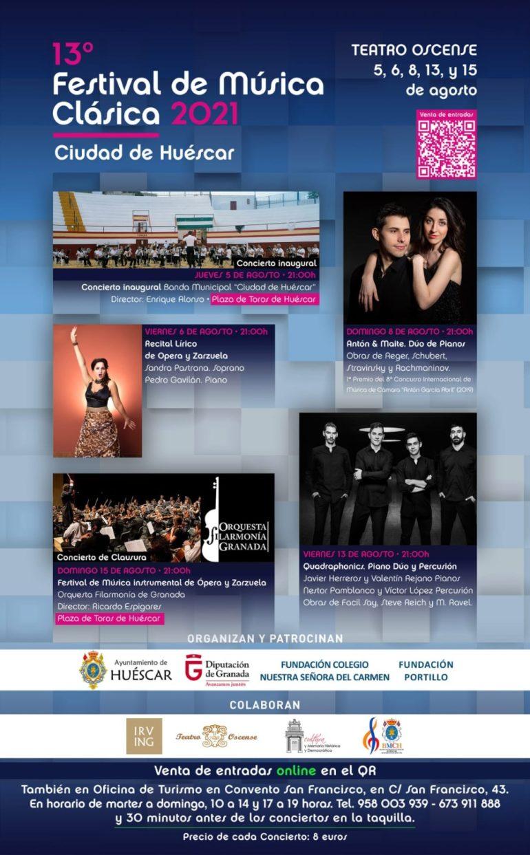 13º Festival Música Clásica , Huéscar 2021